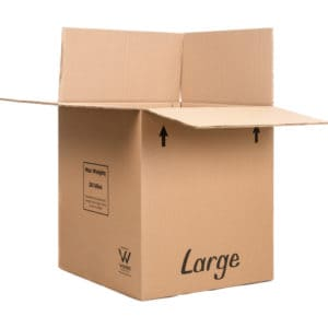 Removal Boxes – Large (x10) and Strong.  Recommended.